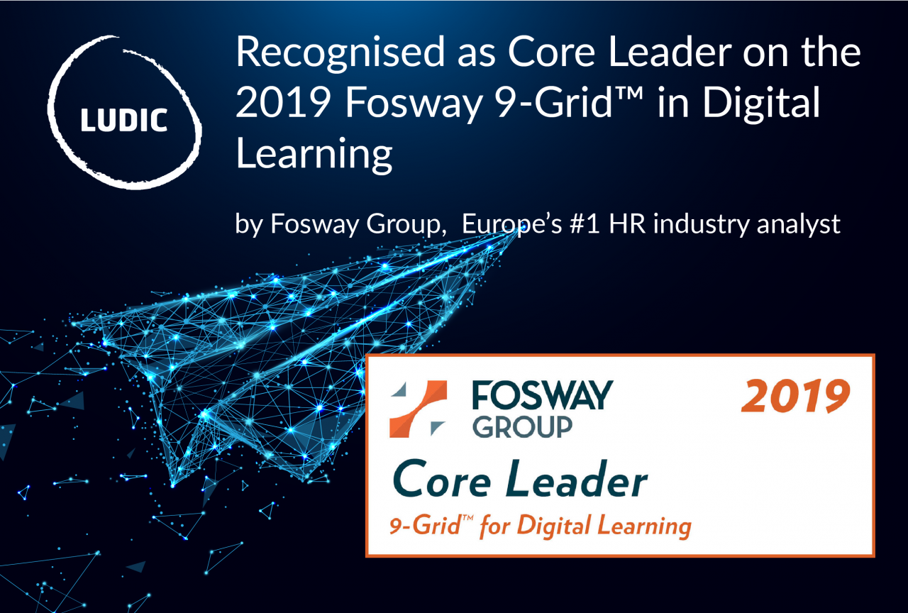 b2ap3_large_190130_Fosway_banners_website Ludic identified as a Core Leader by the 2019 Fosway 9-Grid™ for Digital Learning - News - Ludic Consulting