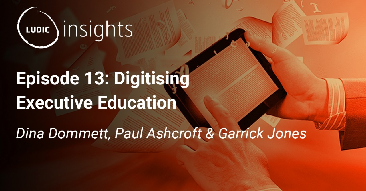 Ludic Insights, Episode 13: Digitising Executive Education